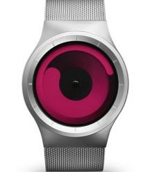 ZIIIRO MERCURY WATCHES CHROME / MAGENTA